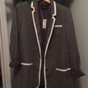 Grey blazer size 14